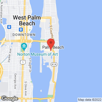 Map of Michael Kors Collection at 226A Worth Ave, Palm Beach, FL 33480