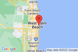 Map of Palm Beach