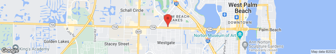 Map of 2705 Okeechobee Blvd in West Palm Beach