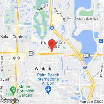 Map of Tuesday Morning at 2501 Okeechobee Blvd, West Palm Beach, FL 33409