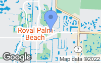 Map of Royal Palm Beach, FL