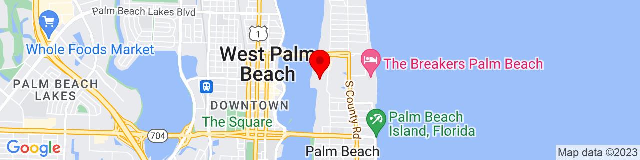 Google Map of 26.714331, -80.04277259999999
