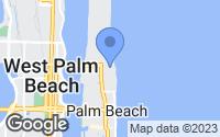 Map of Palm Beach, FL