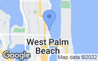 Map of West Palm Beach, FL