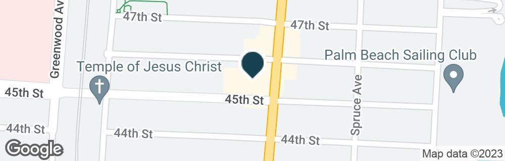 Google Map of4601 BROADWAY