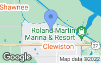 Map of Clewiston, FL