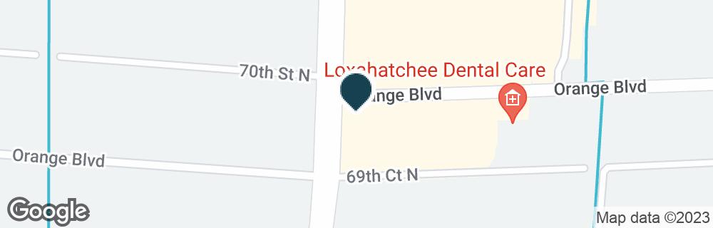 Google Map of15940 ORANGE BLVD