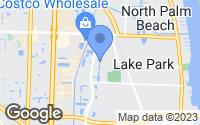 Map of Lake Park, FL