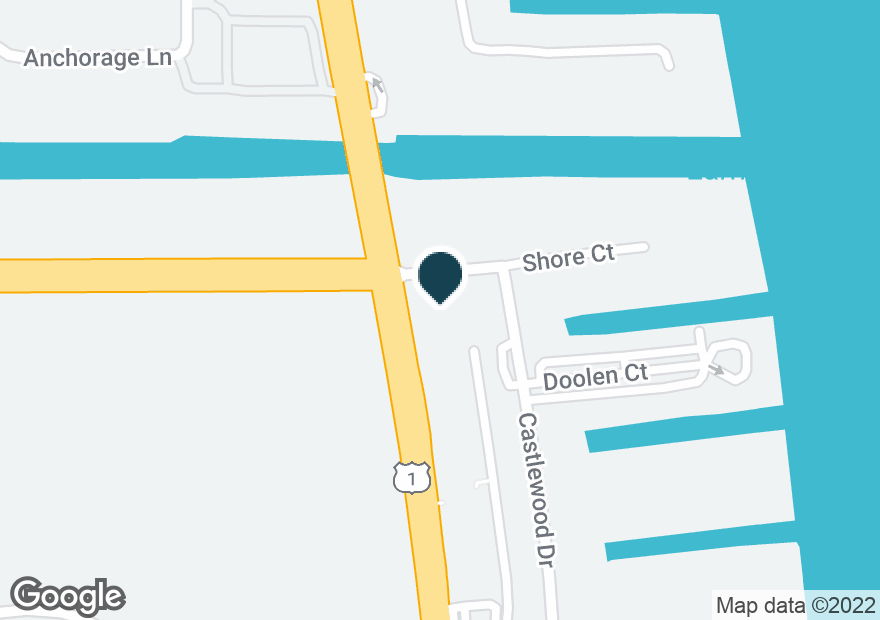Google Map of230 US HIGHWAY 1