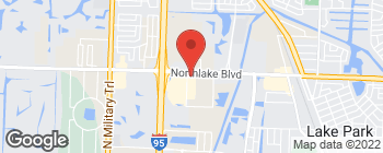 Mapa de 3720 Northlake Blvd en Palm Beach Gardens