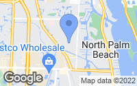 Map of North Palm Beach, FL