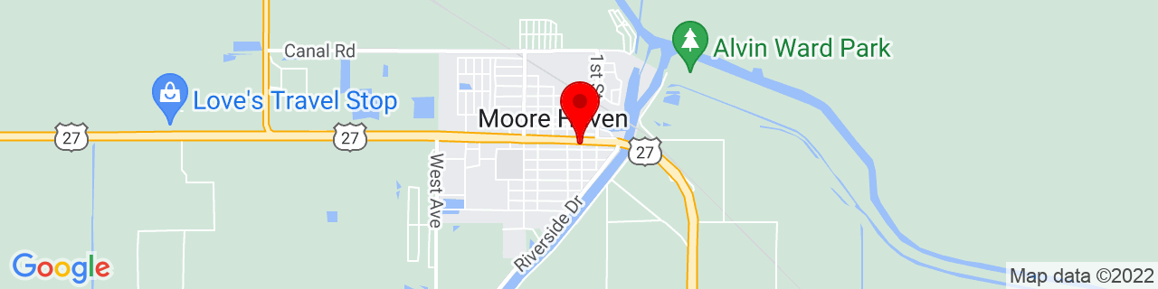 Google Map of 26.8331174, -81.0931234