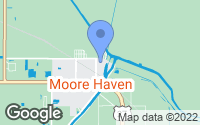 Map of Moore Haven, FL