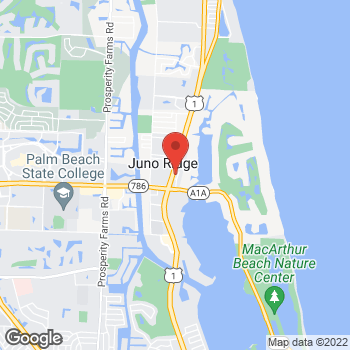 Map of Hair Cuttery - Closed at 11602 Us Highway 1 Space Out2, Palm Beach Gardens, FL 33408