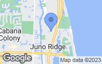 Map of Juno Beach, FL