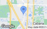 Map of Palm Beach Gardens, FL