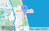 Map of Juno Beach, FL