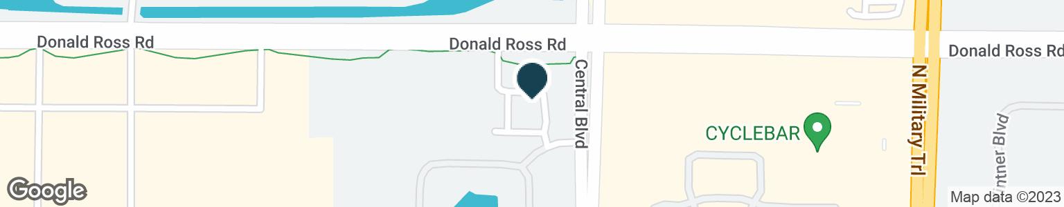 Google Map of4860 DONALD ROSS RD