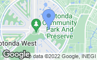 Map of Rotonda West, FL
