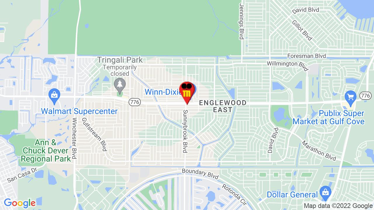 Google Map of Englewood Pest Control