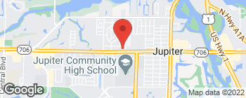 Map of 651 W Indiantown Rd in Jupiter