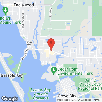 Map of Taco Bell at 1901 McCall Rd S, Englewood, FL 34223
