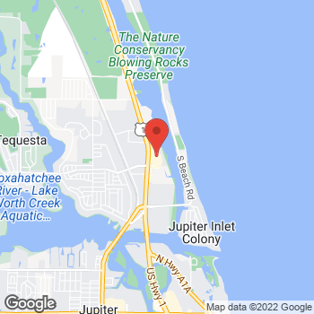 Map of Tuesday Morning at 115 US Highway 1 North, Tequesta, FL 33469