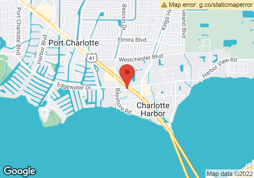 Google Map of 22449 EDGEWATER DR