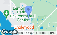 Map of Englewood, FL