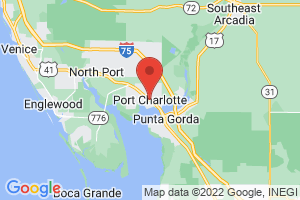 Map of Port Charlotte