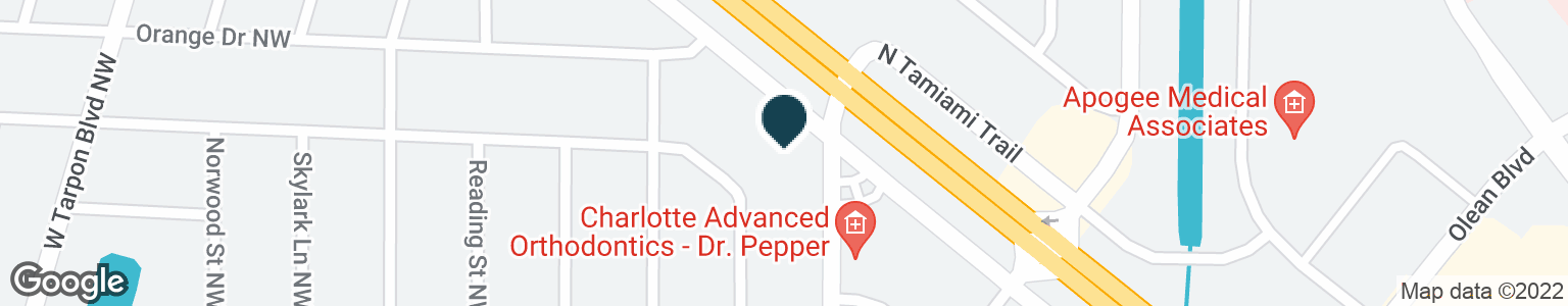 Google Map of3001 TAMIAMI TRL