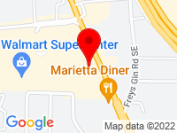 Google Map of 260 Cobb Parkway SE
