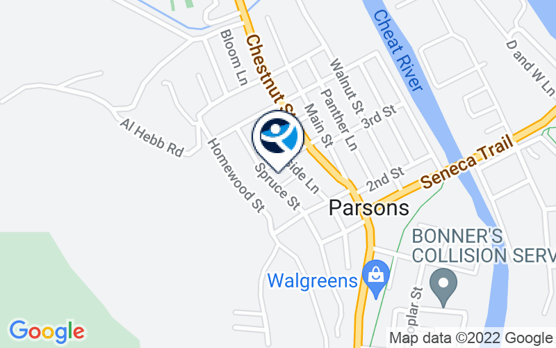 Louis A. Johnson VA Medical Center - Tucker County CBOC Location and Directions