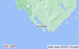 Map of Ucluelet Campground