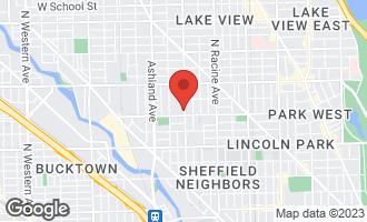 Map of 2600 North Southport Avenue #308 CHICAGO, IL 60614