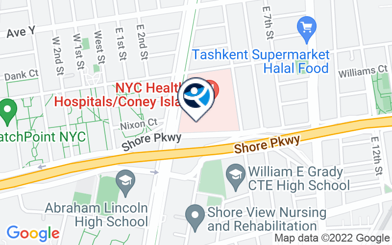 NYC Health Hospitals - Coney Island Location and Directions