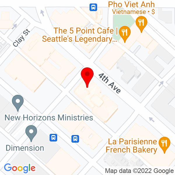 Google Map of 2601 4th Avenue, Suite 700, Seattle WA 98121