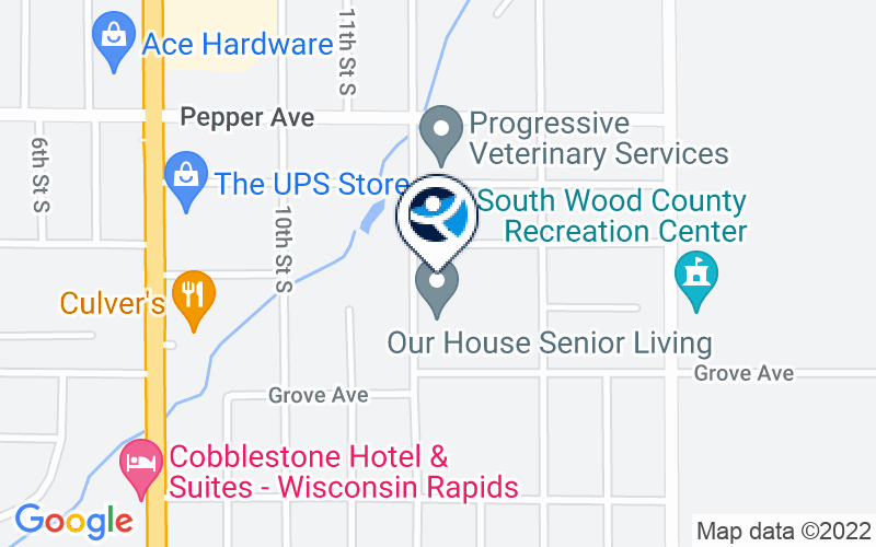 Wood County Human Services Center Location and Directions