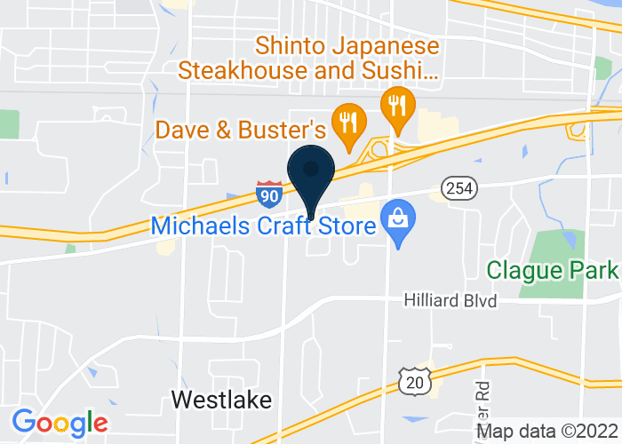 Map of 26137 Detroit Rd, Westlake, OH, United States