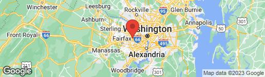 Map of 2616 WEST STREET FALLS CHURCH, VA 22046
