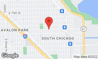 Map of 2617-19 East 83rd Street CHICAGO, IL 60617