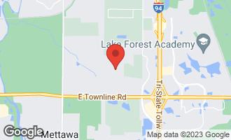 Map of 26182 North Farwell Road METTAWA, IL 60045