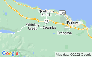 Map of Coombs Country Campground