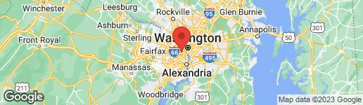 Map of 262 BARTON STREET N ARLINGTON, VA 22201