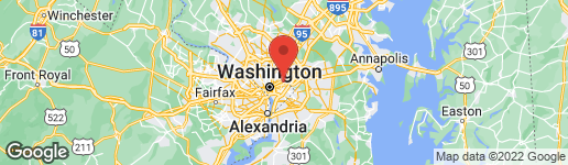 Map of 2624 30TH STREET NE WASHINGTON, DC 20018