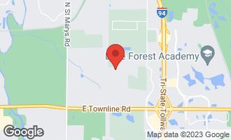 Map of 26243 North Farwell Road METTAWA, IL 60045