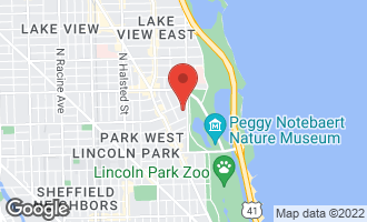 Map of 2626 North Lakeview Avenue #2907 CHICAGO, IL 60614