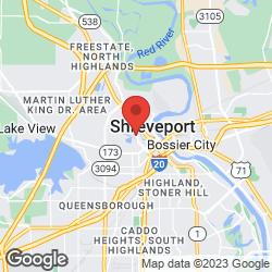 Shreveport Fire Department on the map