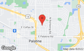 Map of 263 North Marion Street PALATINE, IL 60074