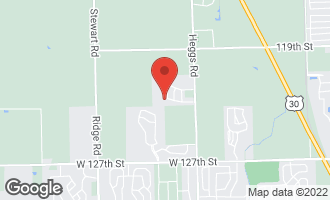 Map of 26305 Baxter Drive PLAINFIELD, IL 60585
